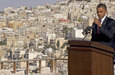 Barak Obama in Giordania nel Luglio 2008